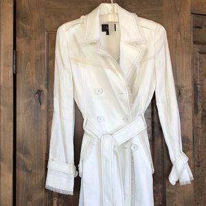 Cole Hann Women's Linen Trench Coat. Brand New